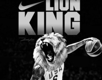 LION KING (Nike Concept Ad)