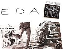 'İlk Veda' One Page Comic Strip