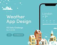 XD Daily Challenge - Day 9 Weather App