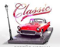 classic auto rojo -2012