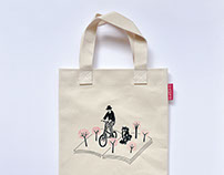 Books.com.tw X Paper Travel: Canvas Bag