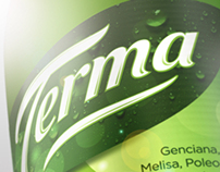 Label redesign for herbal drink & 3D.
