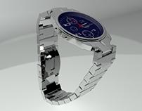 Pulsar Watch 3D Max