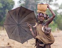 Peuple Mursi d'Ethiopie