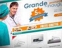 Kolplast - Medical Supplies Web Store Layout