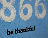 Be Thankful, Not Wasteful