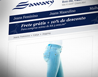 Sawary - Jeans Factory Web Store Layout