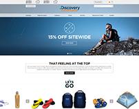 Discovery Adventures - website design