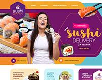 Ui/Ux Design - Shushi Delivery