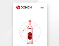DOMEN - Web Site, Logo