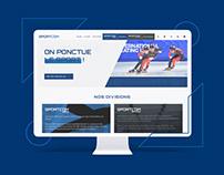 Sportcom   Refonte web