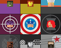 Square Heads - Avengers