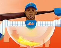 The New York Times - The Mets and Cespedes