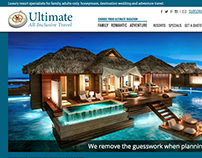 Ultimate All-Inclusive Travel Responsive Website