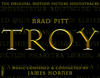 TROY Movie Poster Created Using Adobe PhotoshopCC 2014
