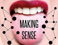 MAKING SENSE. / poster design
