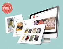 Millk Online Store
