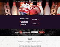 Bowling Website Design