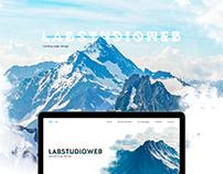 Labstudioweb. Landing page.