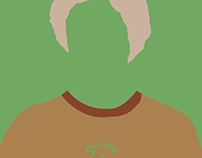 Scott Pilgrim / / / Minimalist Poster Designs