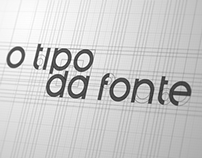 Logo creation - O Tipo da Fonte
