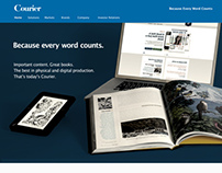 Web Design- Courier.com
