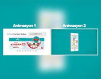 Online Bağış Animasyonları