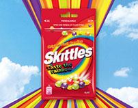 Skittles - Print Ad & POS