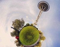 Stereographic Planets