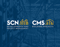 SCN + CMS Building Projects Brand Identity