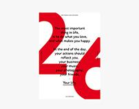 26 · Poster design.