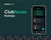 Clubhouse Mobile App Redesign