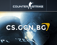 Counter-Strike (CS.GGN.BG) - Website Re-Design
