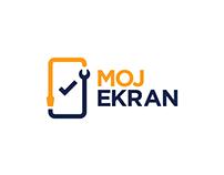 Moj Ekran (My Display)  // Logo Design