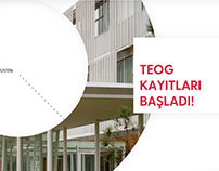 Koç School - TEOG Website Design