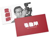 Sam Collins Media Visual Identity