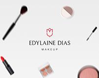 Edylaine Dias Makeup - Identidade visual