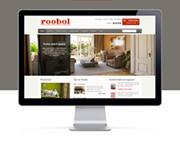 Roobol - Web redesign