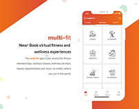 Fitness Classes & Wellness, Beauty Appointments UI Kit