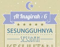 QS Al Insyirah : 6