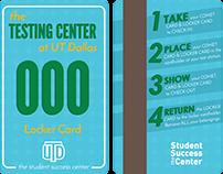 UT Dallas Testing Center Locker Cards