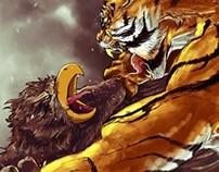 Harimau Malaya  vs  Garuda  (2-0)