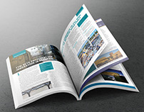 Concrete in Australia magazine: editorial design