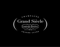 Laurent Perrier Champagne Grand Siècle branding