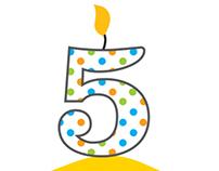 Global Handwashing Day 5th Anniversary Logo