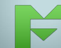 Eco Materials Logo Concept