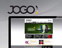 Jogo - web design proposal