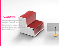Furniture for Dominos Pizza