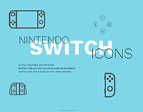 Nintendo Switch Icon Pack