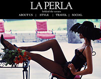La Perla Concept Blog/Homepage for Website